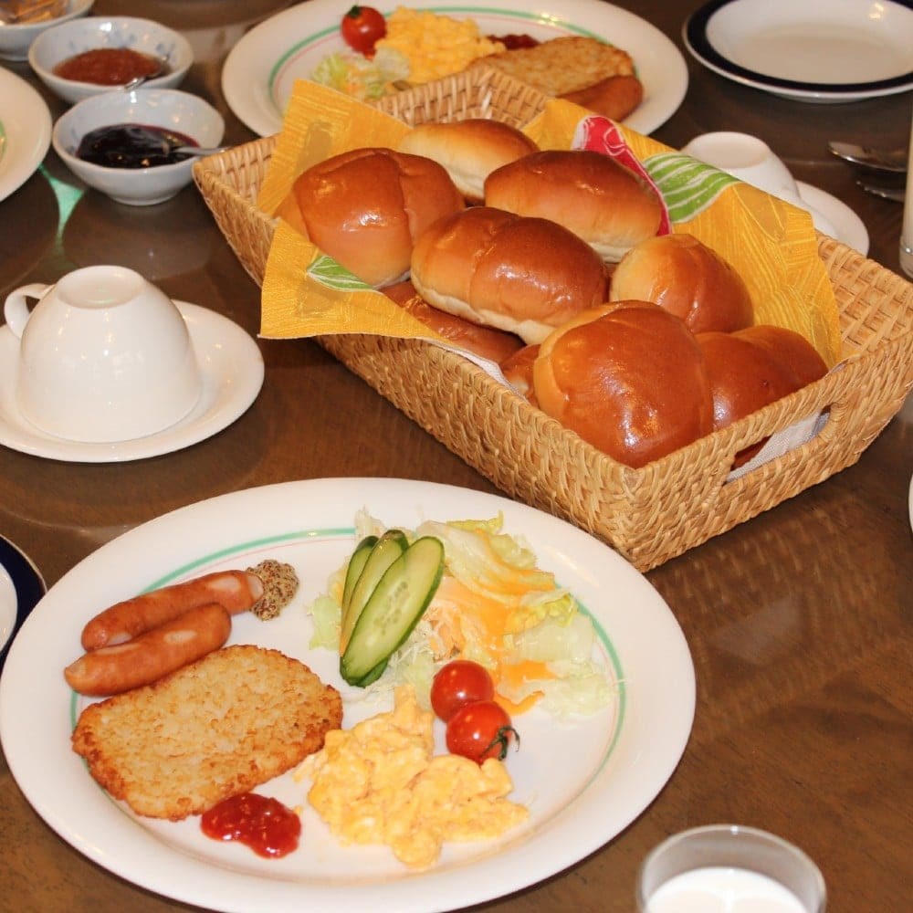 ロッジやまぼうしの朝食