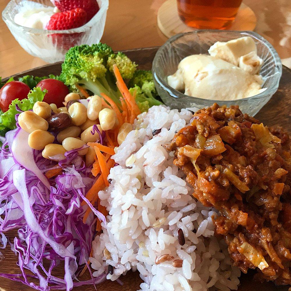 健康野菜たっぷりランチ