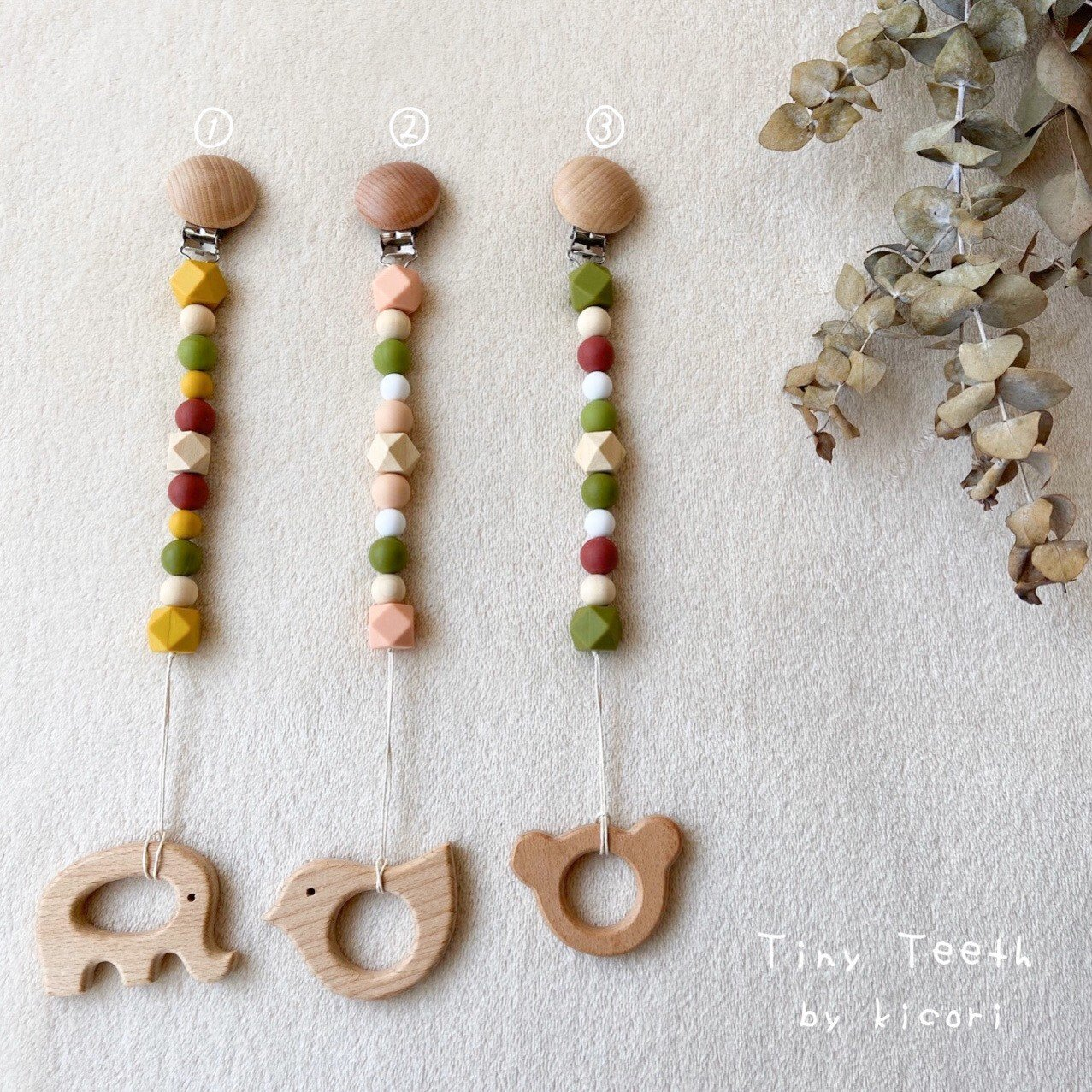 【歯固め】おもちゃホルダー/🍡団子シリーズ🍡