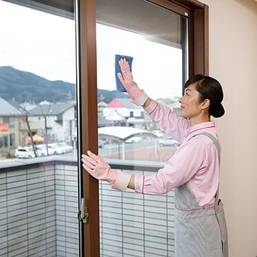 ダスキンのガラス・サッシ・網戸クリーニング/網戸張替サービス