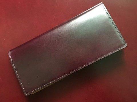 高級革小物贈答品通販/コードバン/長財布/オーダーメイド