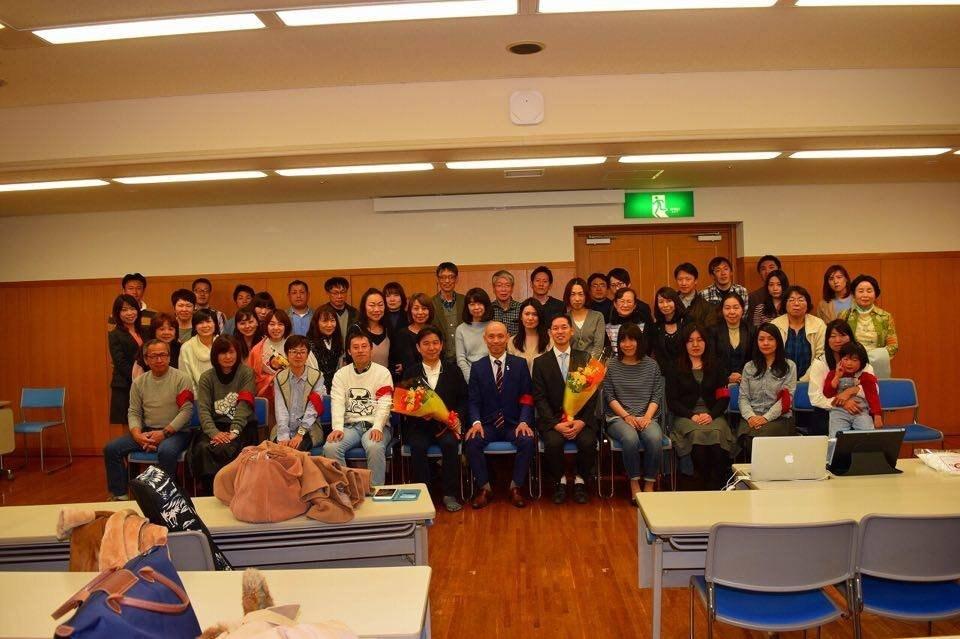 岡山での講演会