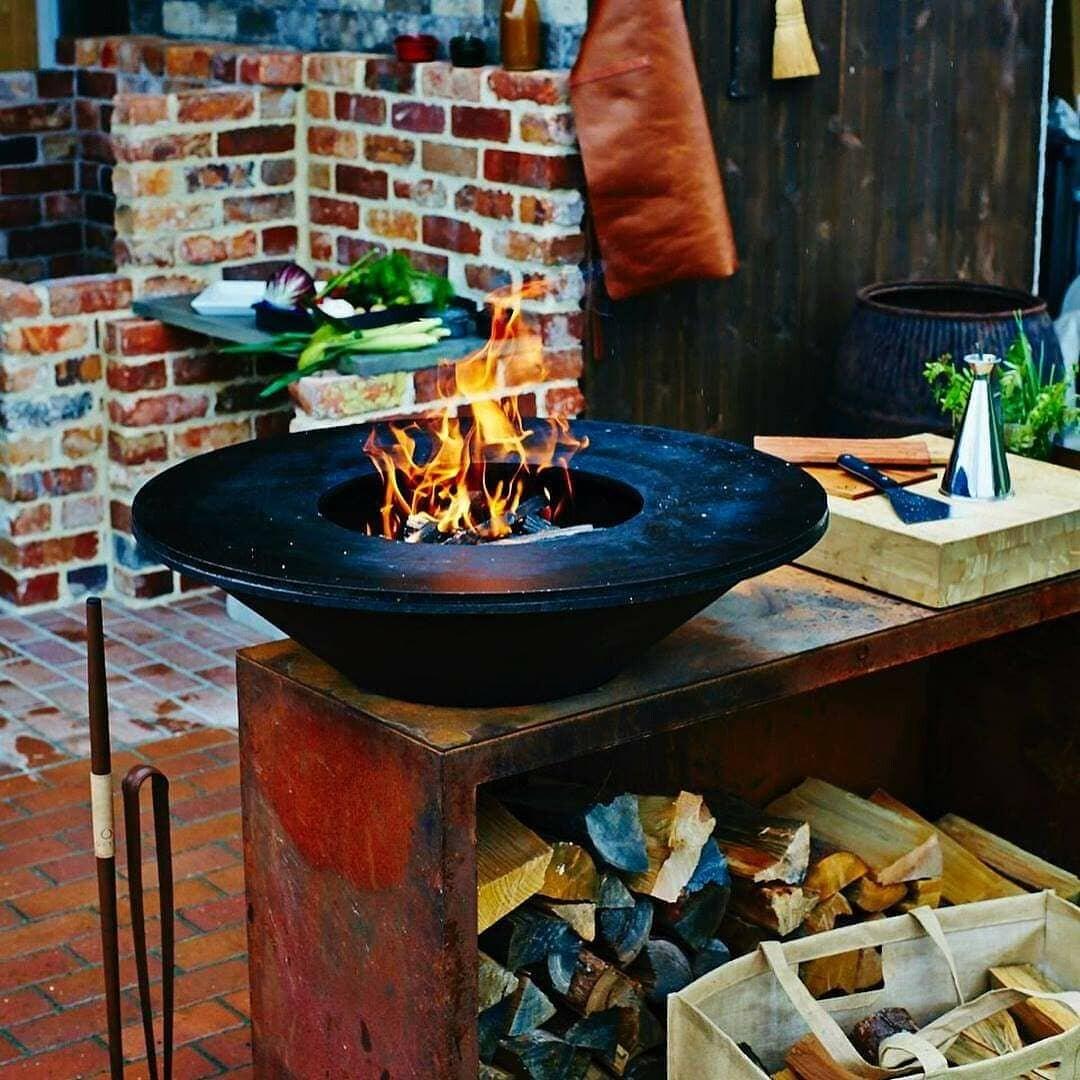 薪焼きグリルオランダ製のオフィア