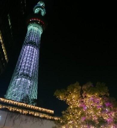 東京セミナー参加時の夜景2