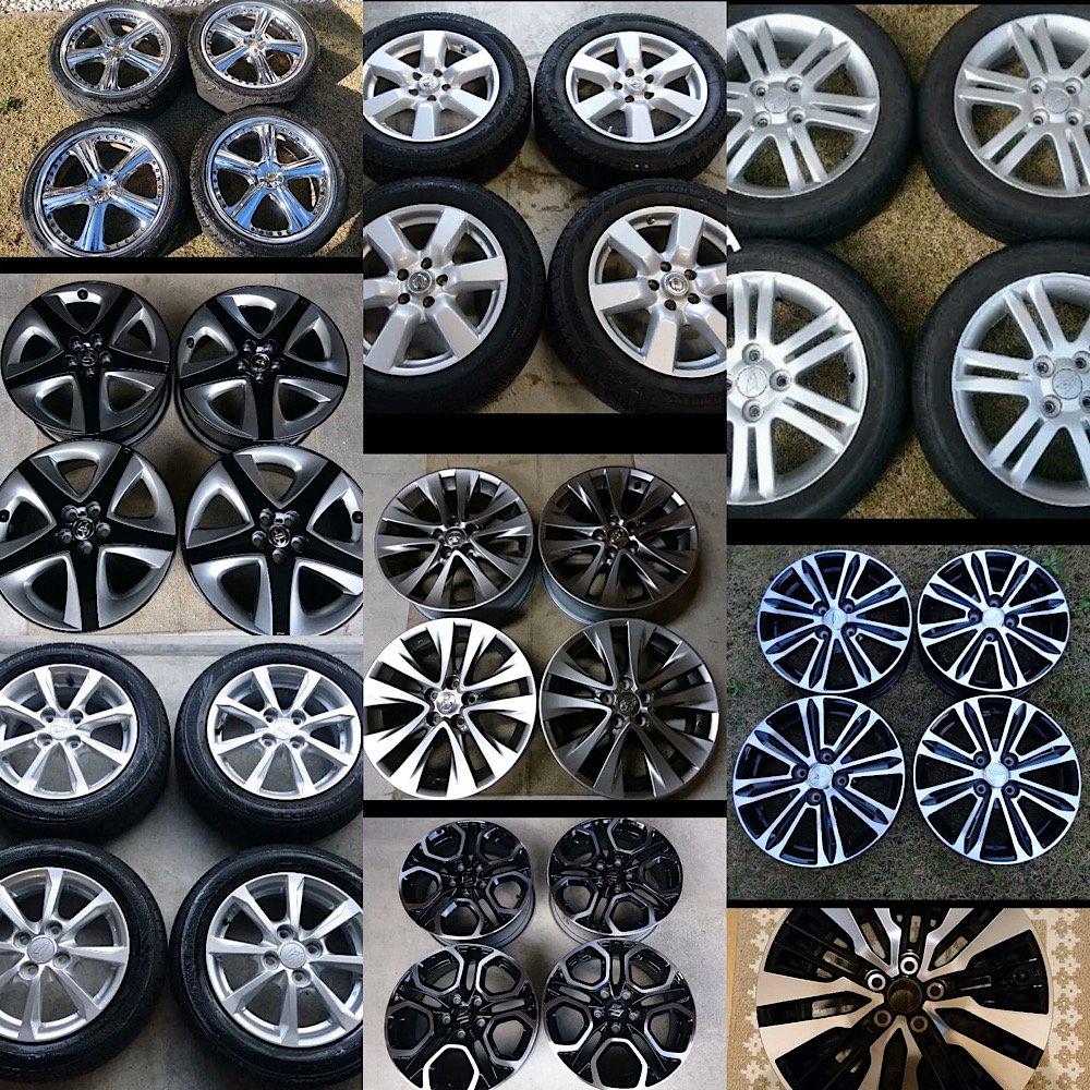 【千葉県旭市】持ち込みタイヤ交換・格安輸入タイヤ販売【TAKAHASHI-R/ タカハシアール】店内の様子