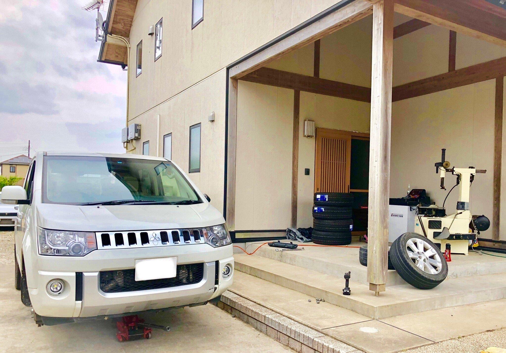 【千葉県旭市】持ち込みタイヤ交換・格安輸入タイヤ販売【TAKAHASHI-R/ タカハシアール】外観