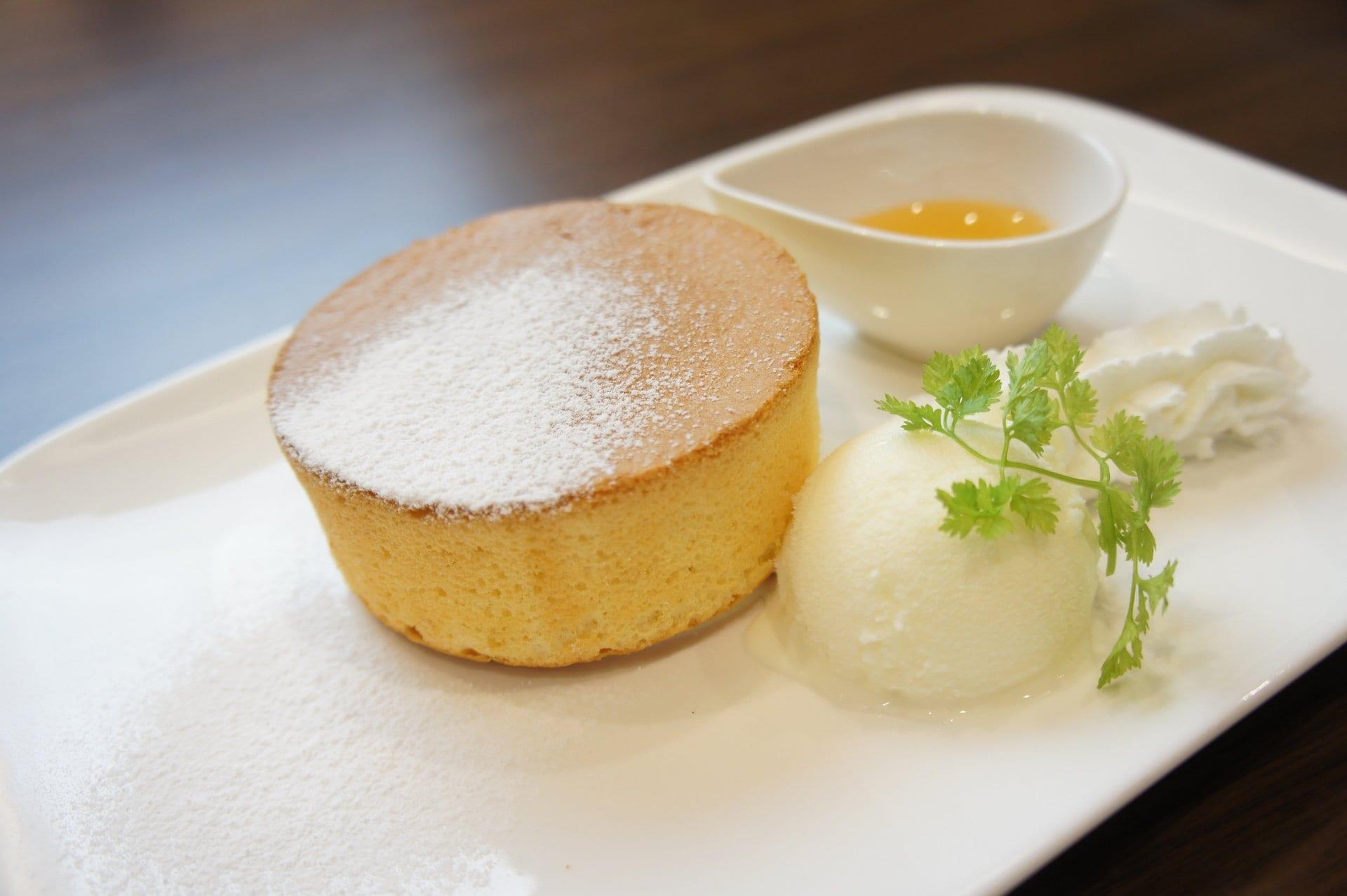 厚焼きスフレパンケーキ ¥710