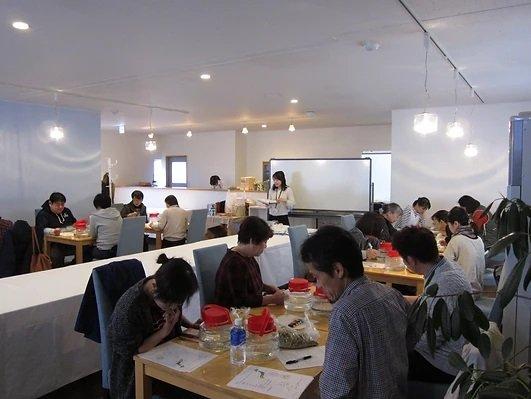 発酵教室&発酵ビュッフェの様子(2017年11月開催)