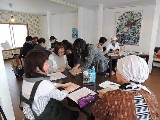 味噌教室の様子(2017年12月開催)