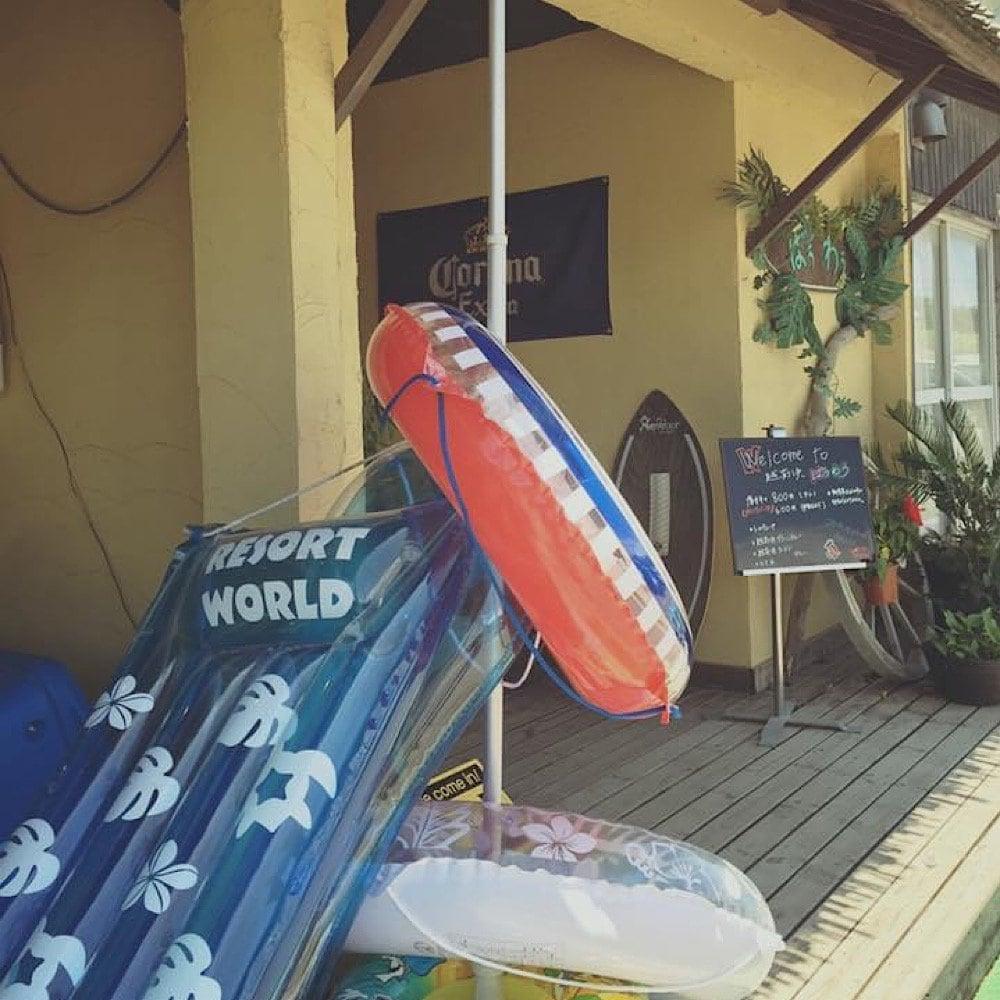 ばうわう夏/浮き輪レンタル