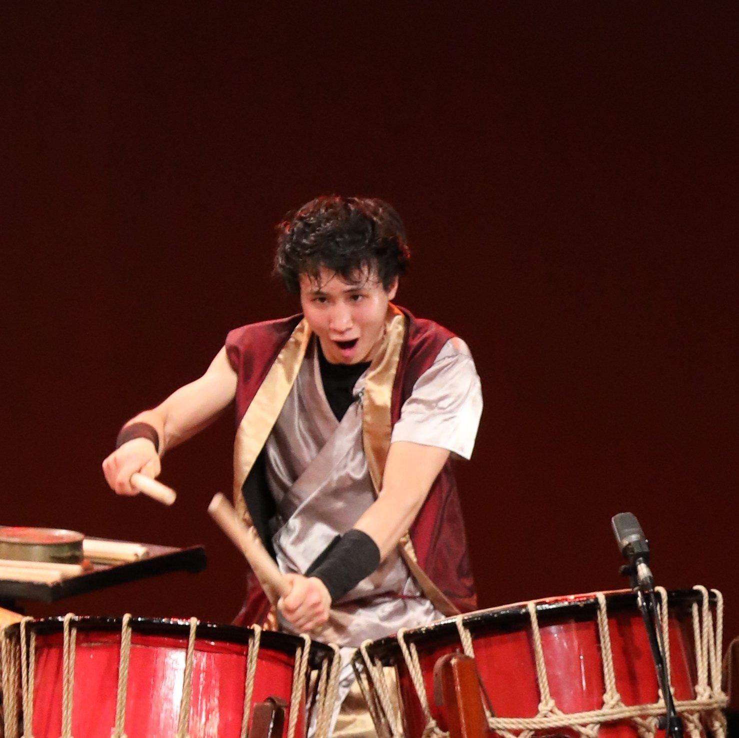 GONNA(ガナ)|和太鼓奏者石井郁也の和太鼓セット演奏