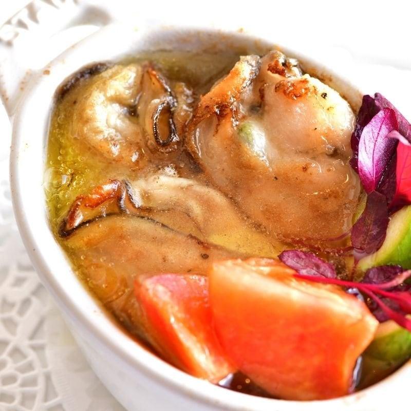 リベロ 牡蠣のアヒージョ