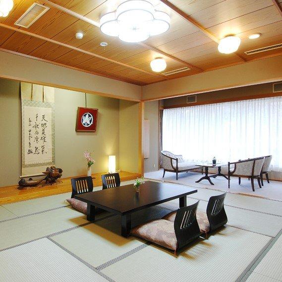 客室は和室・バリアフリー合わせて15部屋
