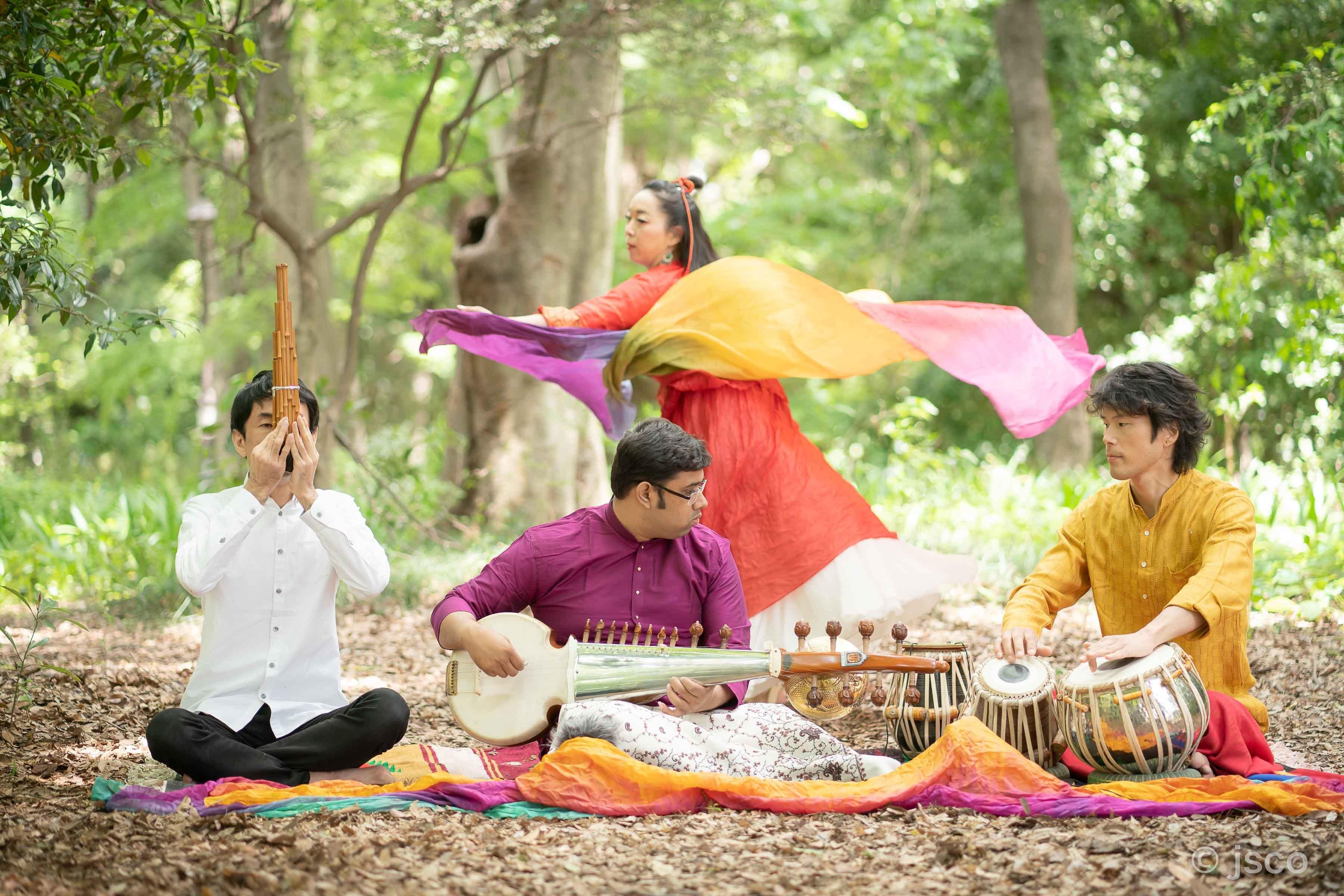 日印伝統のコラボレーション。インド音楽の可能性。