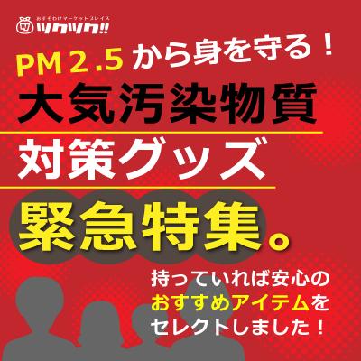 PM2.5対策グッズ特集