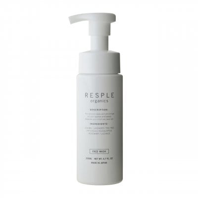 【NEW】RESPLE organics FACE WASH 200ml
