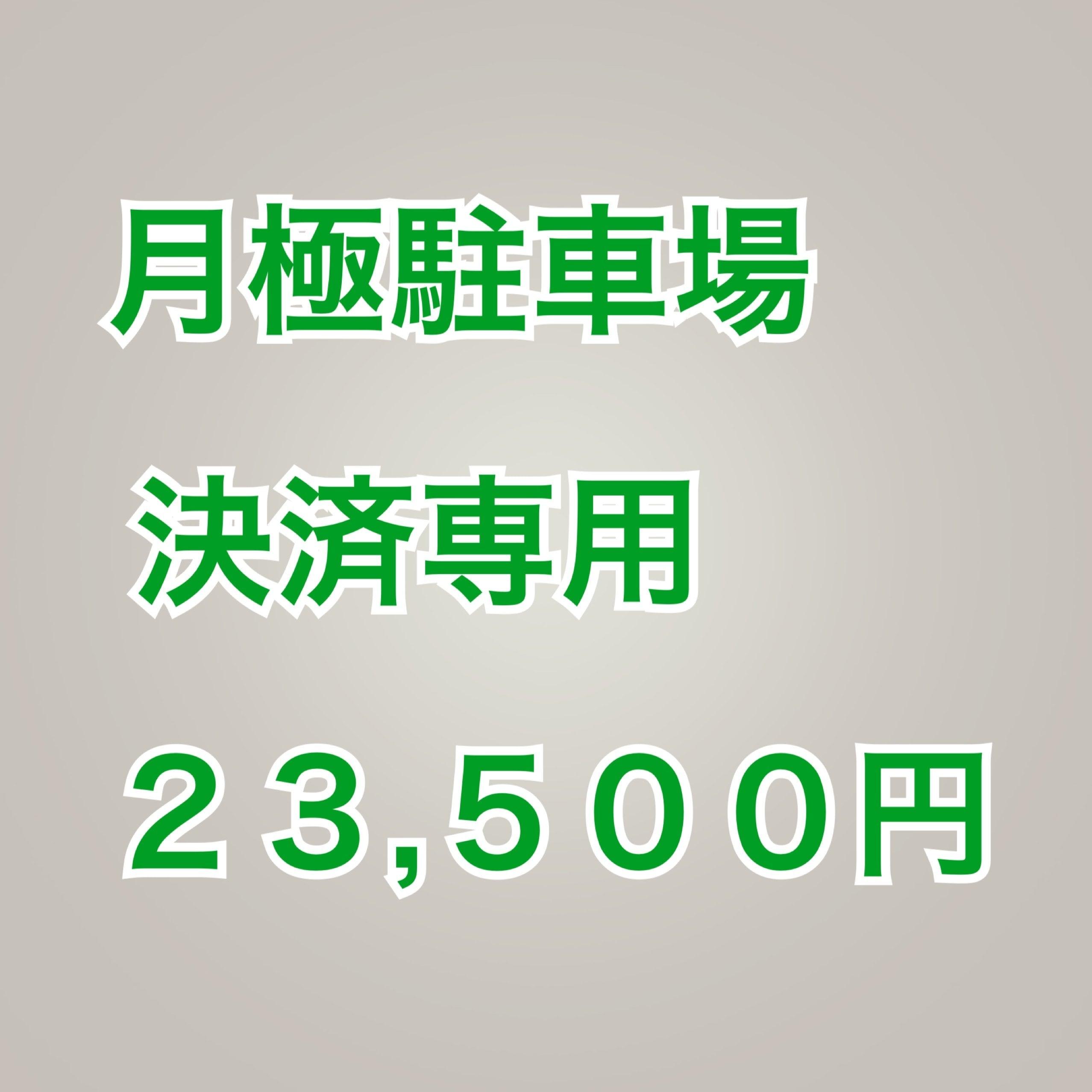 【準備中】『新規の方は事前にお電話願います』リーベンパーク大田区大森南3-12-9 月極駐車場支払い専23,500円(税込み)のイメージその1