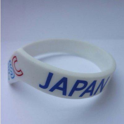FSCシリコンブレス JAPAN ホワイト(950円30AP)