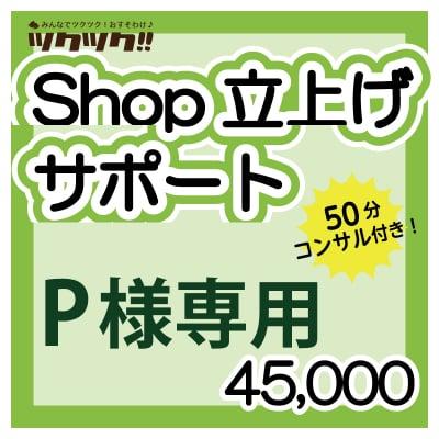 【P様専用】ツクツク!!Shop立上げサポートサービス
