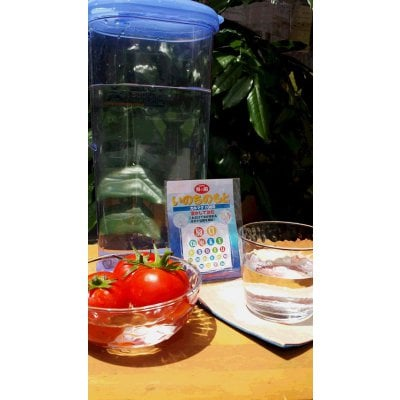 熱中症対策【いのちのもと】安全なミネラル飲料を手作りしよう!【ミネラル補給❗水に溶かして飲む。これだけで体が求める水分と塩類ミネラルを補給!】