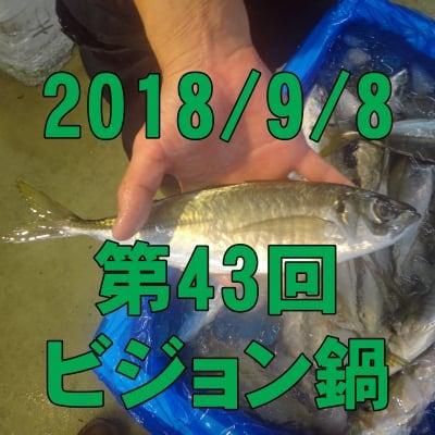 9/8 第43回ビジョン鍋: 魚屋さんと市場直送夏のプリプリお魚鍋で魚の旨さを語る!
