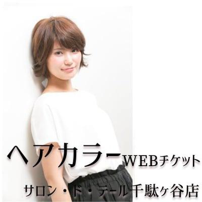 ヘアカラー(ブロー別)WEBチケット