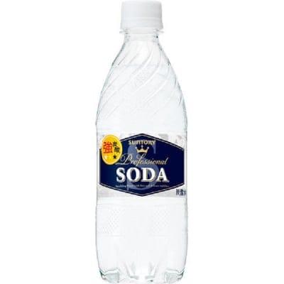 500ml ハイブリットペットボトル   サントリーソーダ 24本