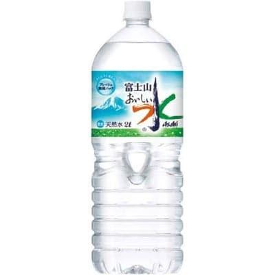 2000ml アサヒ飲料 アサヒ富士山 おいしい水 6本