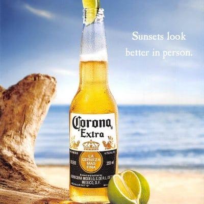 コロナ ビール エキストラ Corona Extra beer 4.5度 355ml 24本入り(1ケース単位で1個口送料)