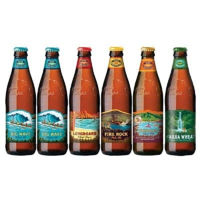 クラフトビール 飲み比べ 人気のハワイビール飲み比べセットコナビール5種類6本セット