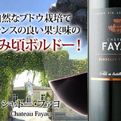 シャトー・ファヨ 2015年 フランス ボルドー 赤ワイン フルボディ 750ml  6本