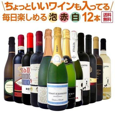 泡 赤 白 スパークリングワイン12本セット wine set ちょっといいワイン...