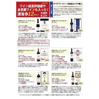 送料無料 ワイン誌高評価蔵や金賞蔵ワインも入った激旨赤12本セット ...