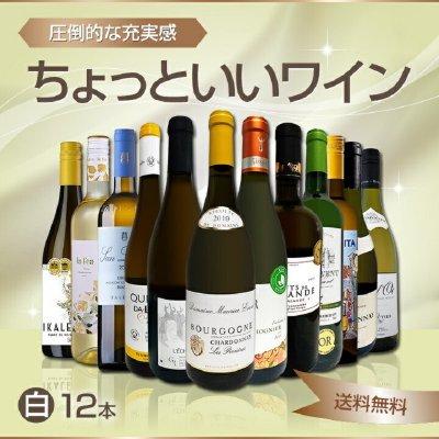 白ワイン セット wine 12本 set 750ml イタリア フランス スペイン など...