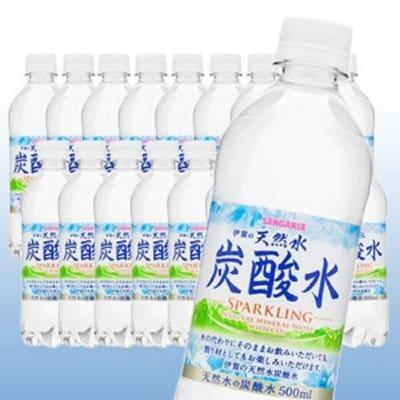 居村仙紅のお風呂指導限定 サンガリア炭酸水500ml 1ケース2400円