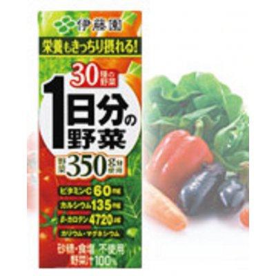 株式会社伊藤園      伊藤園 1日分の野菜 200ml×12本  200 ml  1296 円