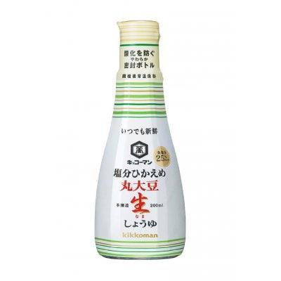 キッコーマン いつでも新鮮塩分ひかえめ丸大豆生しょうゆ 卓上ボトル224円