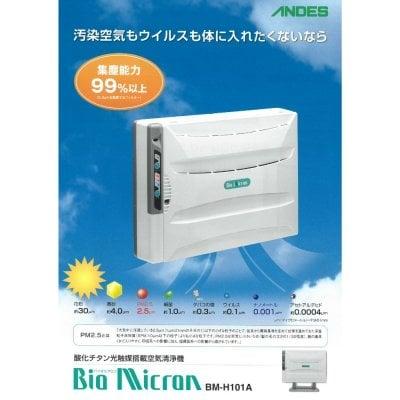 アンデンス電気(株) BM-H101A 据置/壁掛兼用空気清浄機バイオミクロン