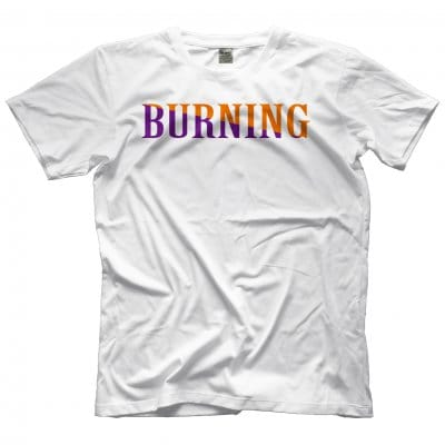 BURNING TEE