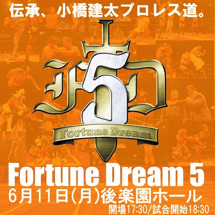 6月11日(月)18:30〜FortuneDream5後楽園ホール大会・A席5,000円のイメージその2
