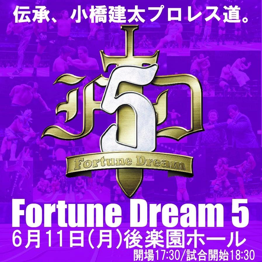 6月11日(月)18:30〜FortuneDream5後楽園ホール大会・S席7,000円のイメージその2