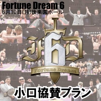 FortuneDream6小口協賛プラン[小橋建太プロデュースプロレス興行]