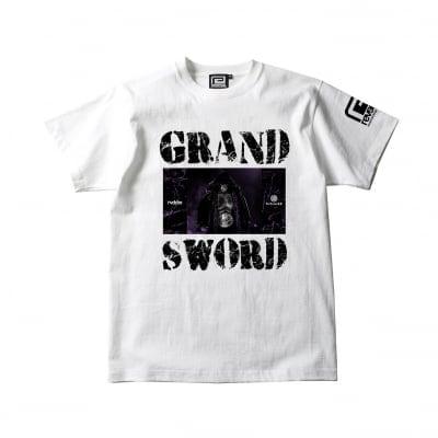 GRAND SWORD TEE white|サイズM