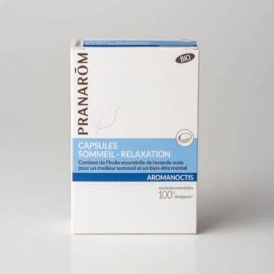 アロマノクティス・カプセル プラナロム社のカプセルサプリメン 安心のアロマテラピー精油とオーガニック植物油を配合した栄養補助食品|ストレスフルな日々に|