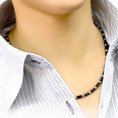 波動測定メタトロンでの施術&有名スポーツ選手も愛用のオシャレなファッション健康ネックレス[ DISMOI - ディモア ]65㎝