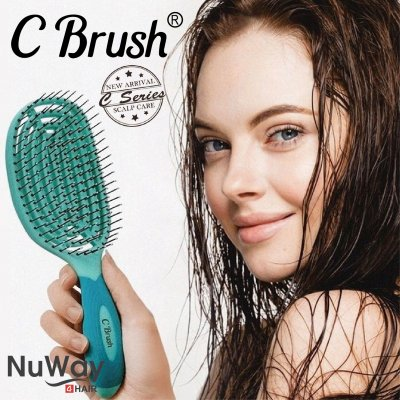 【10月31日まで20%ポイント還元】NuWay4hair C Brush|日本初上陸!話題...