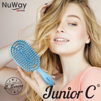 【10月31日まで20%ポイント還元】NuWay4hair Junior C Brush|日本初上...