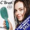 [WDポイント15%還元]NuWay4hair C Brush|日本初上陸!話題のヘアブラシ