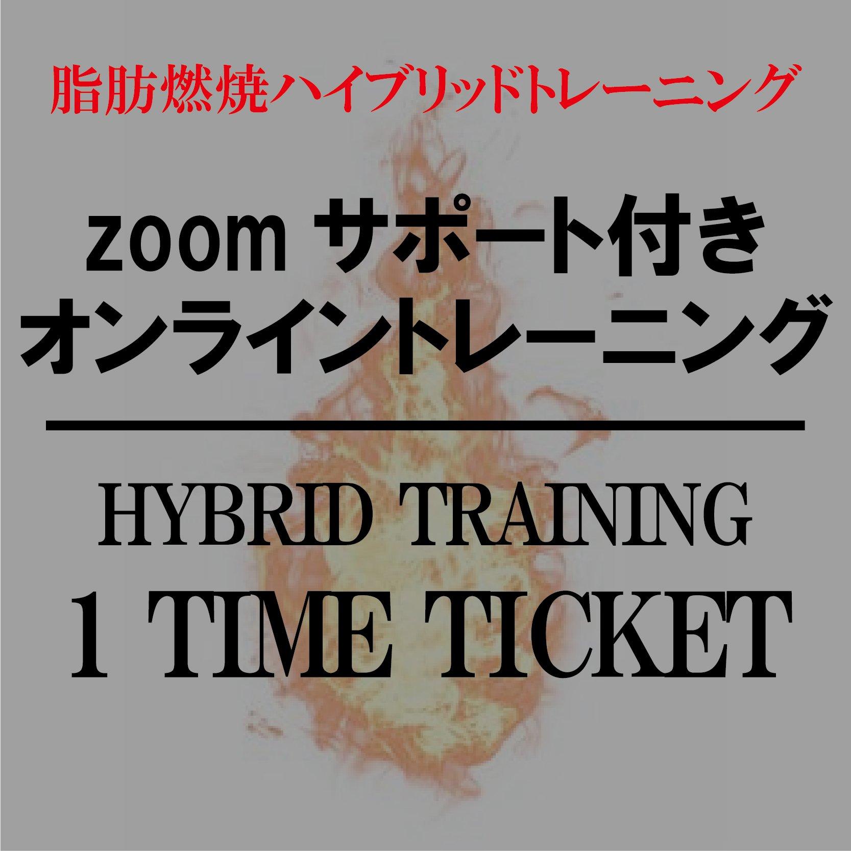 オンライングループトレーニング【zoomサポート付き】|脂肪燃焼ハイブリッドトレーニングのイメージその1
