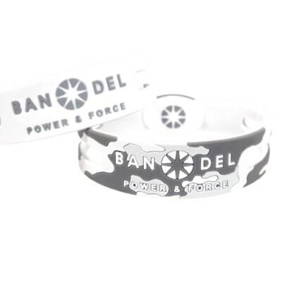 BANDEL ブレスレット リバーシブル(カモフラージュ、ホワイト)Mサイズ